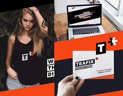 TRAFIK Productions | Production Studio Branding