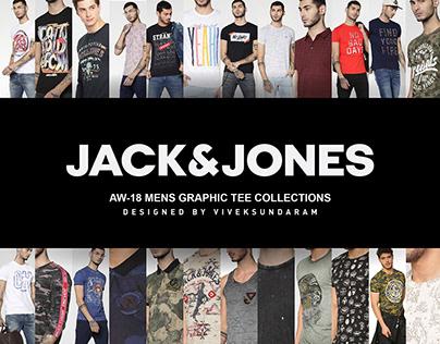 JACK&JONES AW-18 MENS GRAPHIC TEE WORKS
