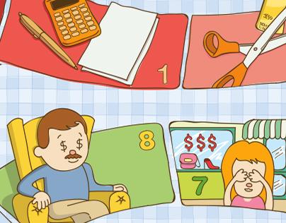 Tabuleiro Educação Financeira - Viva Bem STF