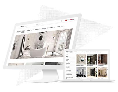 Artemis Web Site Tasarımı