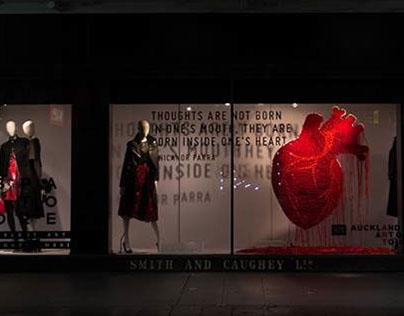 Roots of my Heart: Smith & Caughey's Window Display