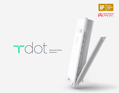 T-dot Bluetooth Braille Keyboard