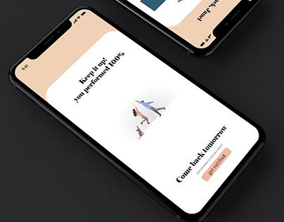 Habit Tracker - XD Design challenge