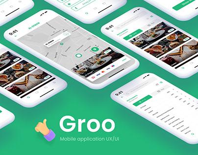Groo Mobile application