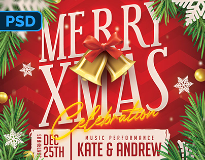 Christmas Flyer - PSD Template
