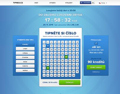 Tipnex.cz - webdesign