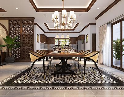 Villa Indochine Style
