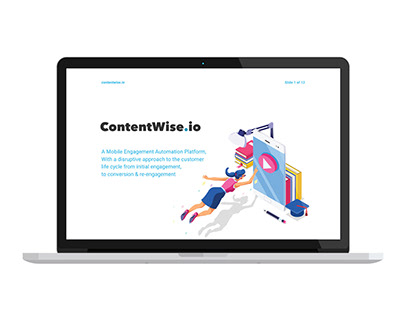 Keynote Presentation Design - ContentWise Sales Pitch