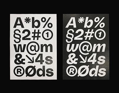 PolySans Typeface