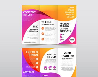 trifold brochure design for shahruh