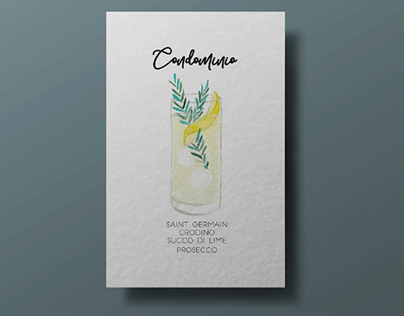 COCKTAILS   hand-drawing illustrations