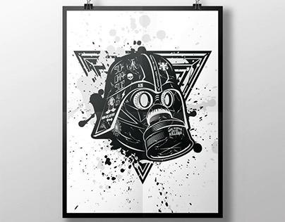 Star Wars Helmet Artwork