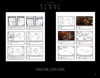 Ma Vie sur Terre - Storyboards