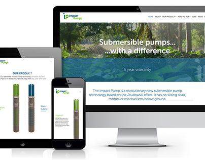Impact Pumps Branding and Website