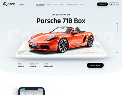 Motor —Сar sharing service