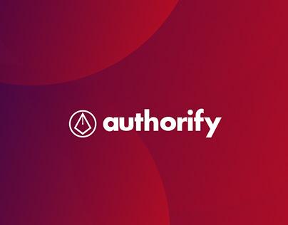 Authorify - Concept Branding