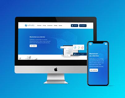 Onfinality   Website & Web App UI/UX Redesign