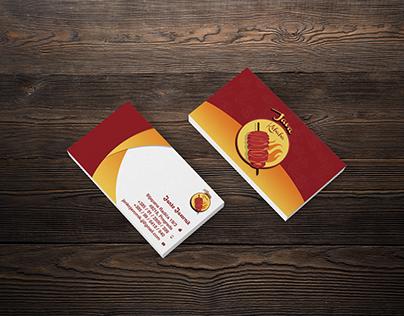 Java kebaba business card