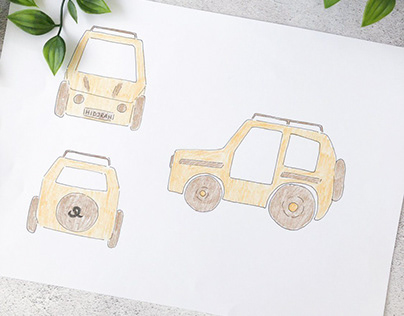 WOODEN TOY JEEP FOR HIDJRAH 1438