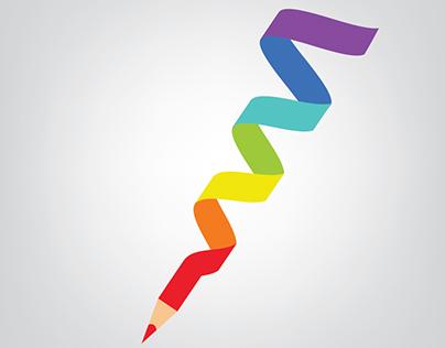 Colorfull pen