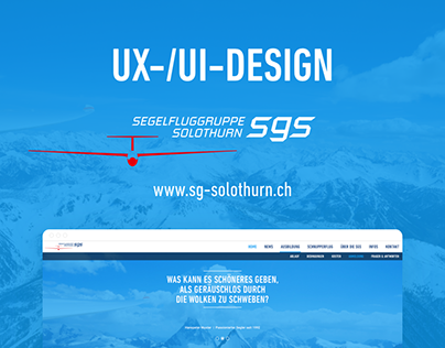 Website sg-solothurn.ch – Soaring Association