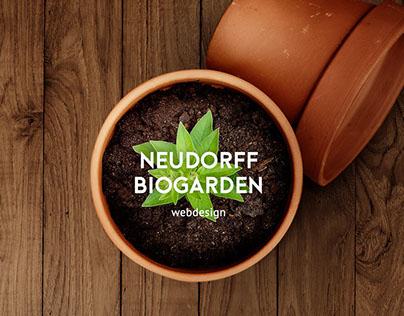 NEUDORFF biogarden webdesign