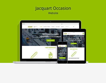 Jacquart occasion - Website