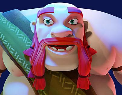 Giant 3D #Character Art