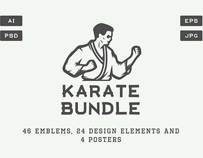 Karate Emblems Bundle