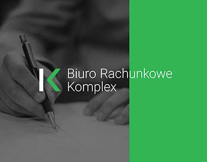 Biuro Rachunkowe Komplex – Rebranding