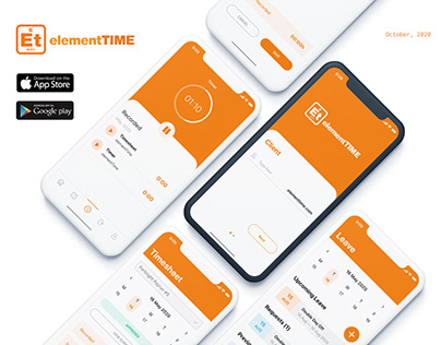 elementTIME Mobile App
