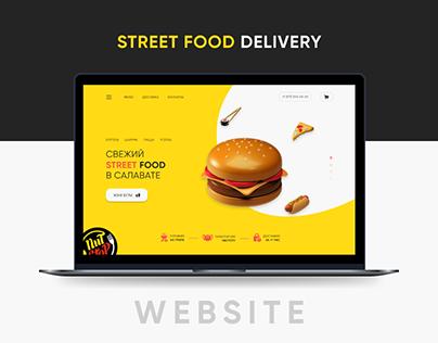 FOOD DELIVERY | WEBSITE CONCEPT | UI/UX