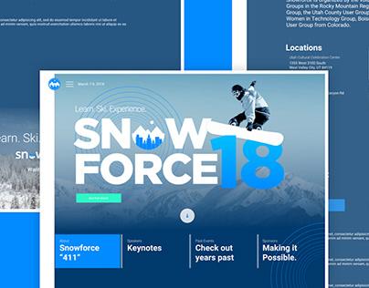 Salesforce Snowforce '18