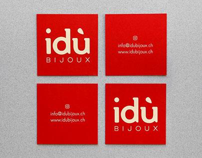 Corporate identity - idù Bijoux