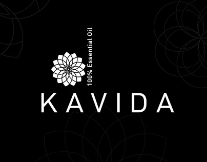 KAVIDA ESSENTIAL OIL BRANDING DESIGN
