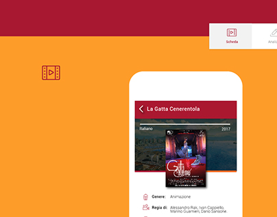 UI/UX Design - Media Education cinema App