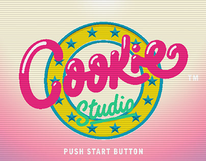 Cookie Studio Pixel Art Ident Presentation