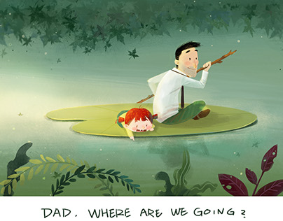 Dad, where are we going?