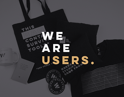 We are users / Grupo W Branding