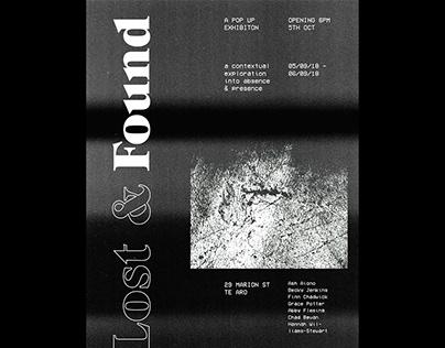 Lost & Found Exhibition