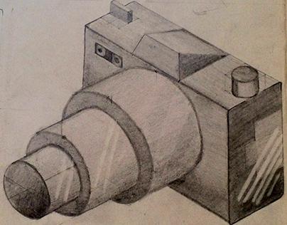 Geometrización de una cámara fotográfica