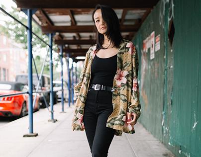 Streetstyle with XiaoJie in Brooklyn