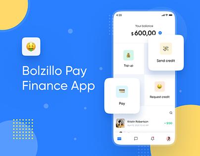 Bolzillo Pay Finance App
