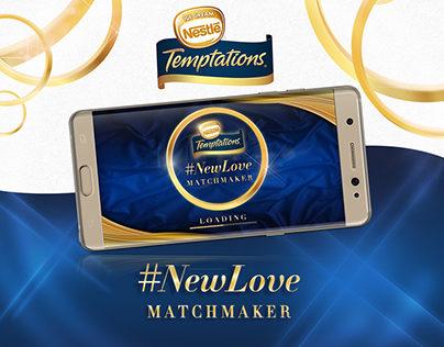 Nestlé Temptations #NewLove Match Maker