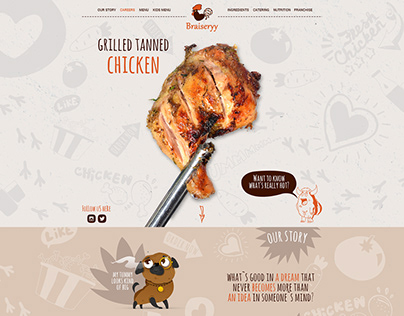 Braiseryy Restaurant Website Design Template