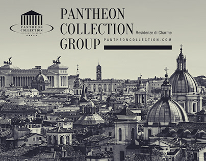 Pantheon Collection Hotel Group Branding