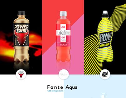 Создание сайта для компании FONTE AQUA