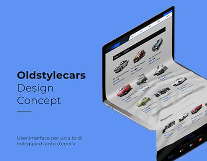 Old Style Cars Web UI