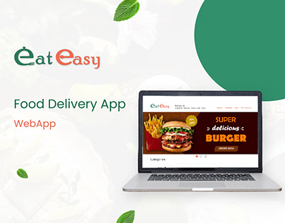 Web Application - Online food delivery