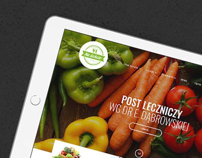 Na Świeżo - diet catering website